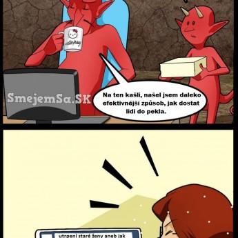 Ako dostať ľudí do pekla