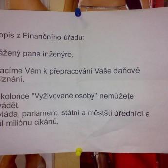 List z finančného úradu