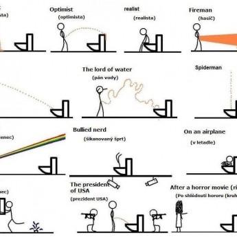 Ako chodia niektorí ľudia na WC