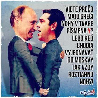 Grécko ruská spolupráca