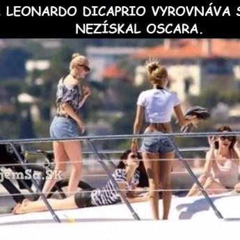 Leonardo sa vyrovnáva s nezískaním Oscara