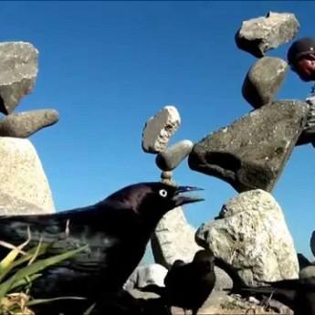 Dokonalá rovnováha z kameňov