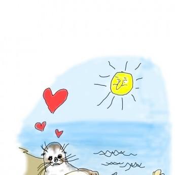 Zaľúbený tuleň
