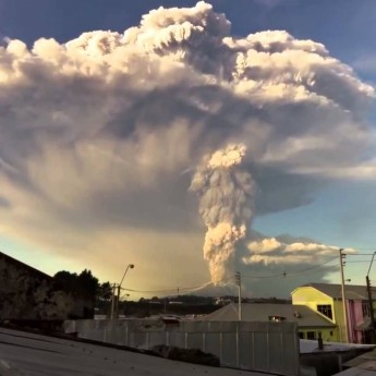 Sopečná erupcia