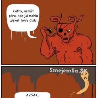 Hovor do pekla