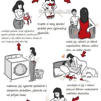 Životný cyklus sexy prádla
