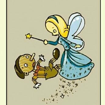 Pinocchio a Modrá víla
