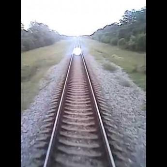Neobvyklý jav počas jazdy vlakom