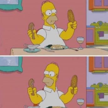 Homer vs. mucha