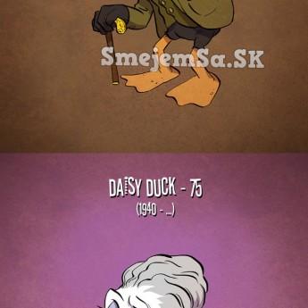 Keby kreslené postavičky starli…