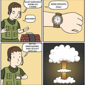 Zneškodňovanie bomby