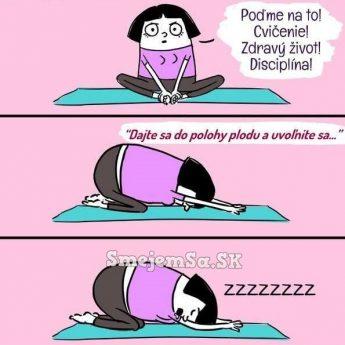 Cvičenie!