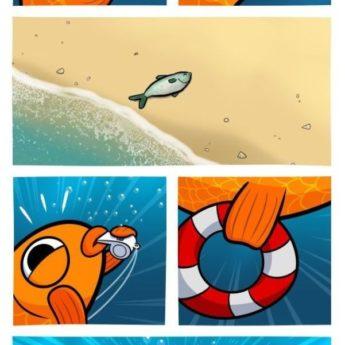 Rybka plavčíčka