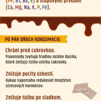 16 vecí, ktoré spôsobuje čokoláda tvojmu telu