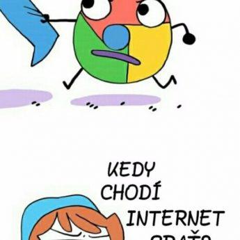 Spánok a internet
